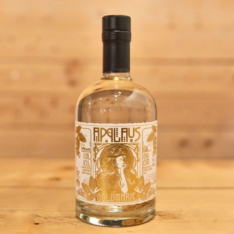 Applaus Gin Goldmarie Flasche
