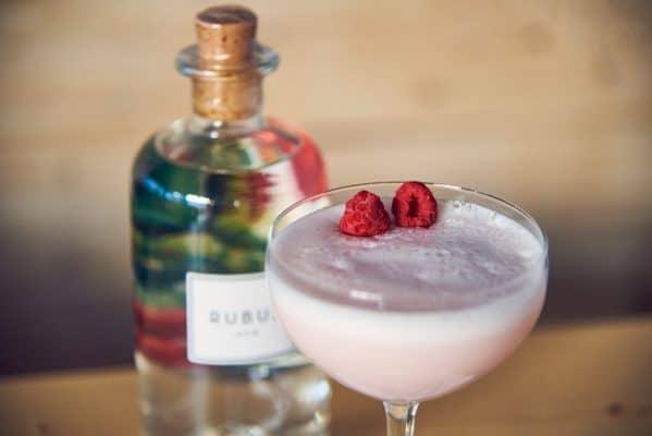 Clover Club Cocktail Nahaufnahme