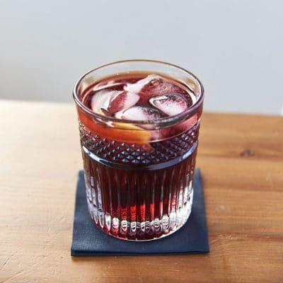 Gin Juice Cocktail Detail