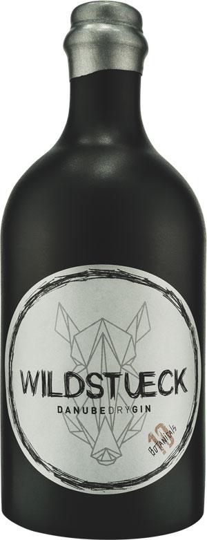 Wildstueck Flasche Gin aus Wachau, Österreich