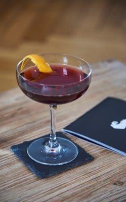 Hanky Panky Cocktail Detail