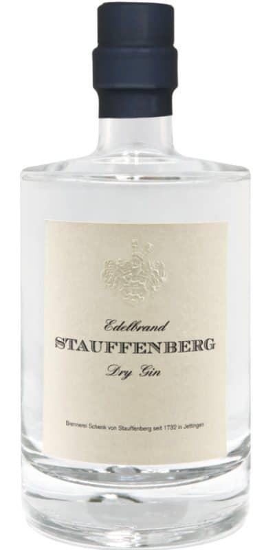 Stauffenberg Gin Flasche Freisteller