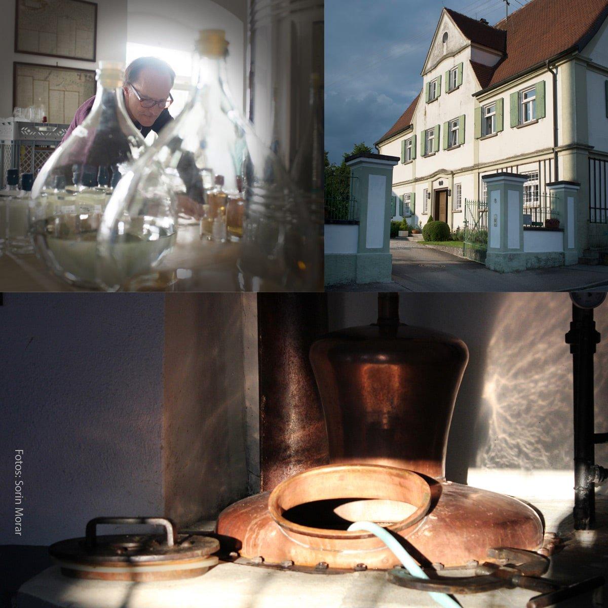 Franz von Stauffenberg Gin - Destillerie