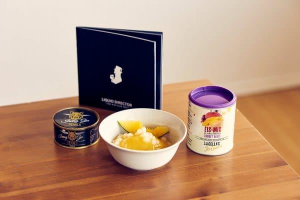 Gin Mango Sorbet