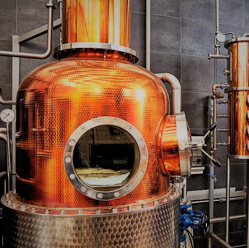 Destillerie vom Irving Gin