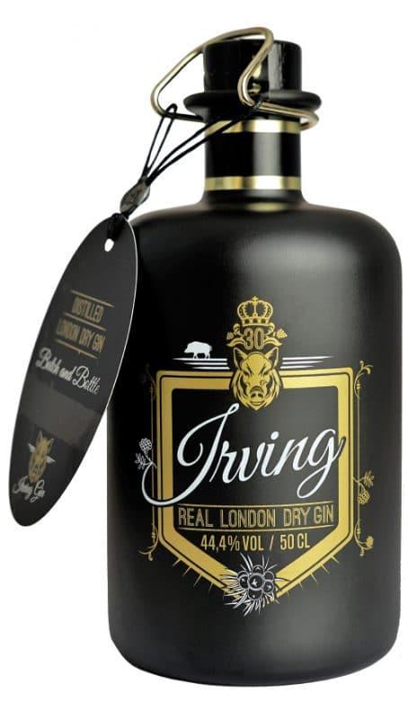 Irving Gin Flasche Freisteller