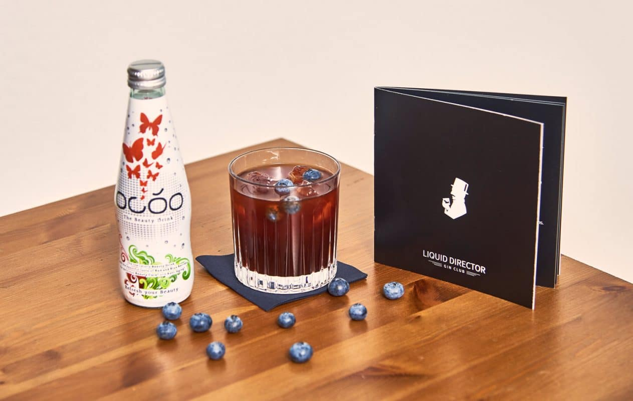 Beauty Cocktail mit Occo Drink und Gin