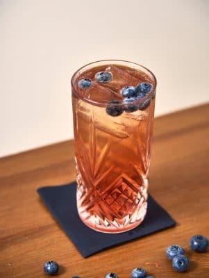 Blue Gin Tonic Detailfoto