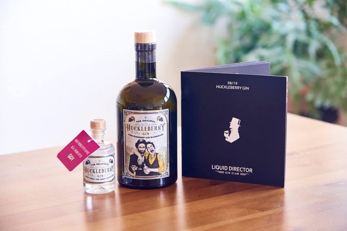 Der Huckleberry Gin Verkostung und Geschichte