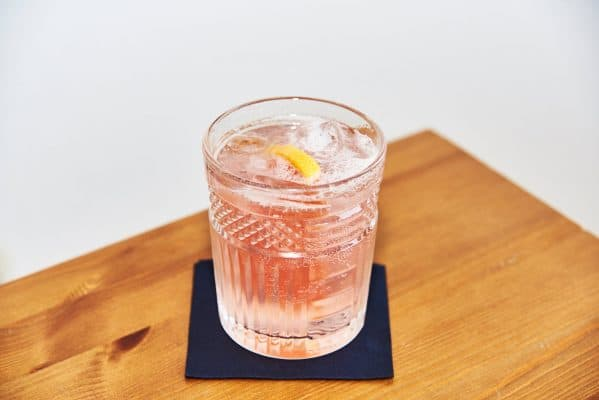 Gin Rhubarb Spritz Detail