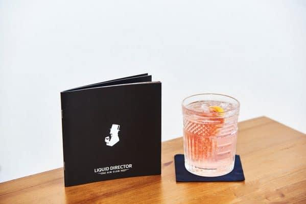 Gin Rhubarb Spritz beim Liquid Director