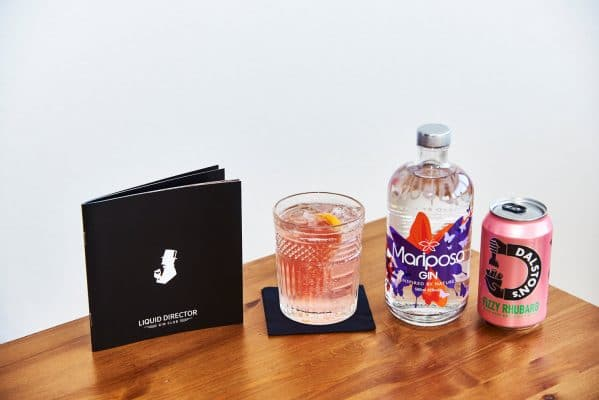 Zutaten für Gin Rhubarb Spritz