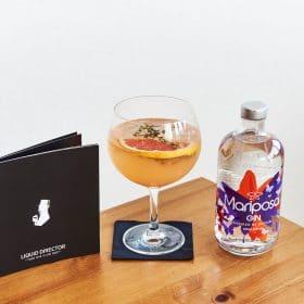 Mariposa Gin mit Grapefruit Gin Spritz