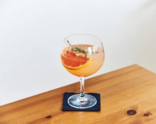Grapefruit Gin Spritz Cocktail