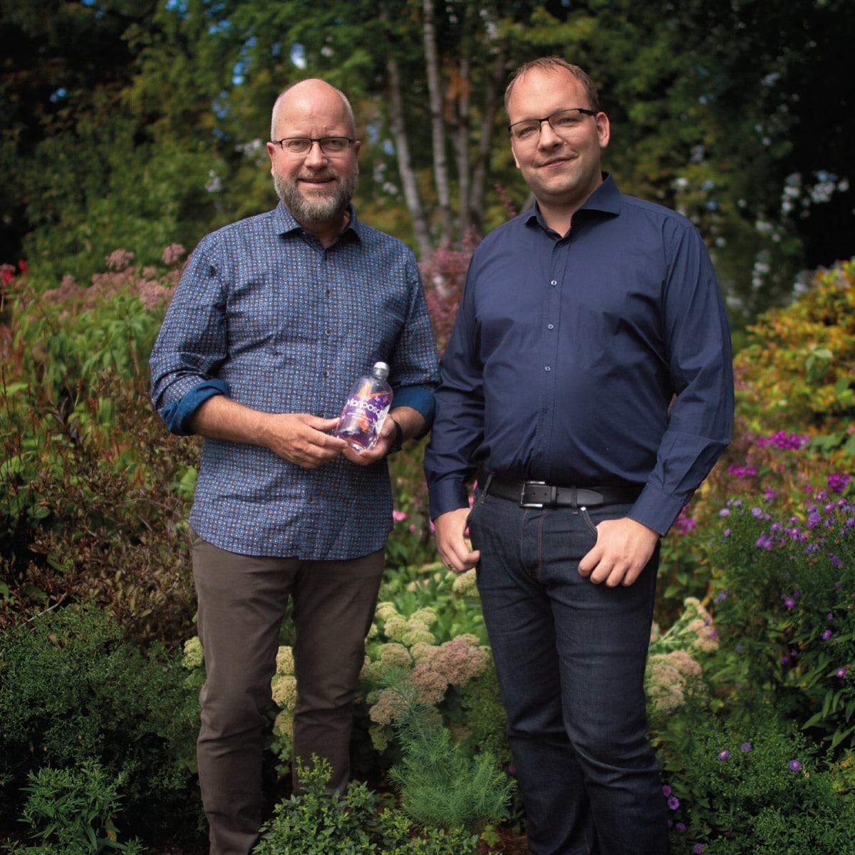 Sven Kassel und Fabian Simon, Gründer des Mariposa Gins
