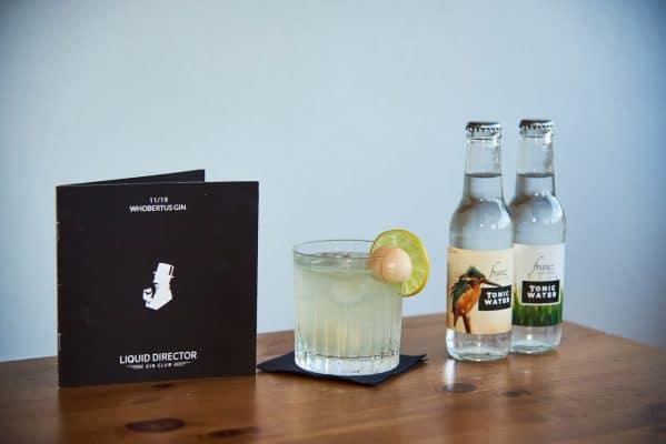 Franz von Durst als Cocktail mit Litschi