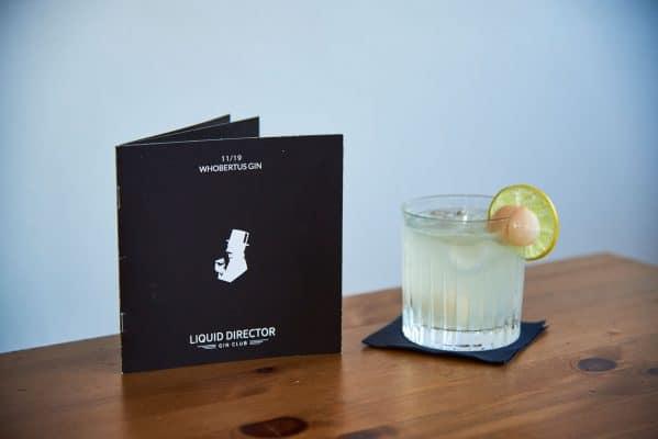 Cocktail für den Whobertus Gin