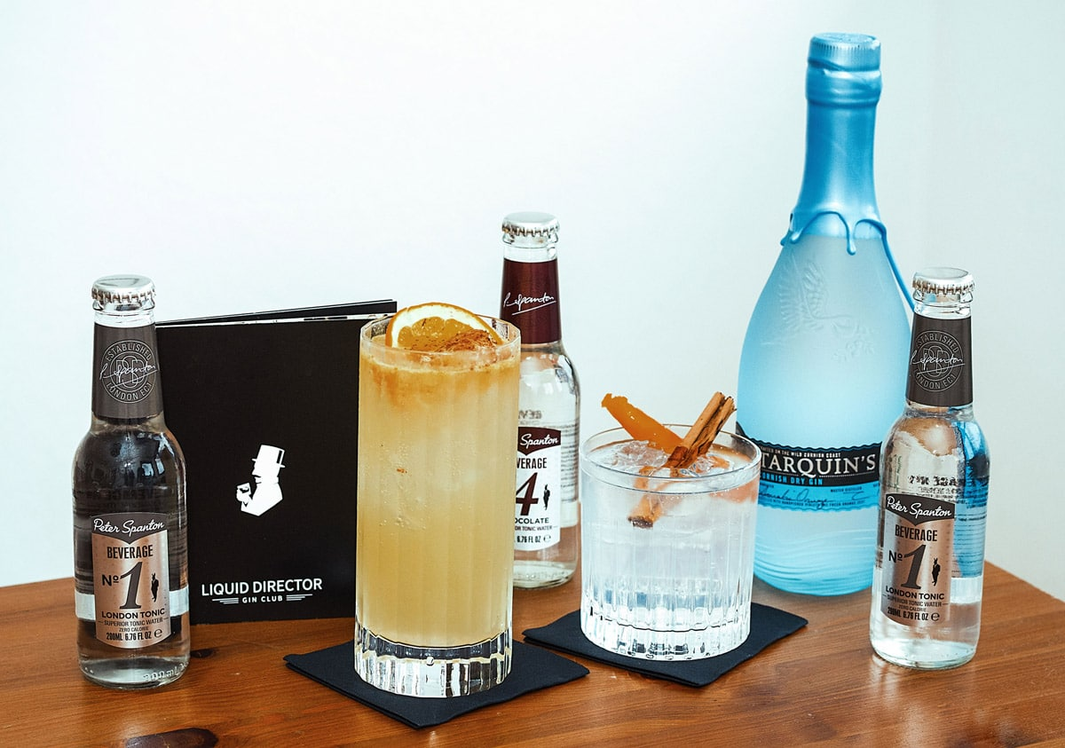 Cocktailempfehlungen zum Tarquin Gin