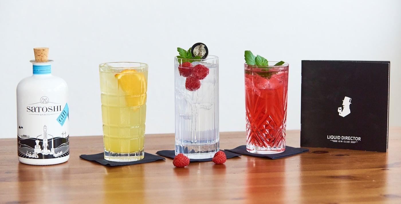 Cocktails mit Satoshi Gin