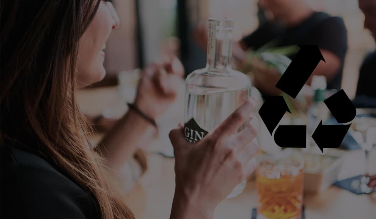 Leere Gin-Flasche? Unsere Ideen zum Upcycling.