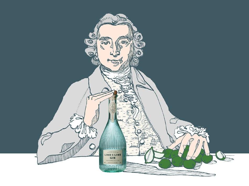 Die Geschichte von Dr. James Lind zum Lind & Lime Gin