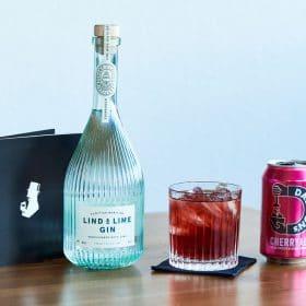 Zubereitung Lind & Cherry Cocktail, Gin mit Kirsche Geschmack