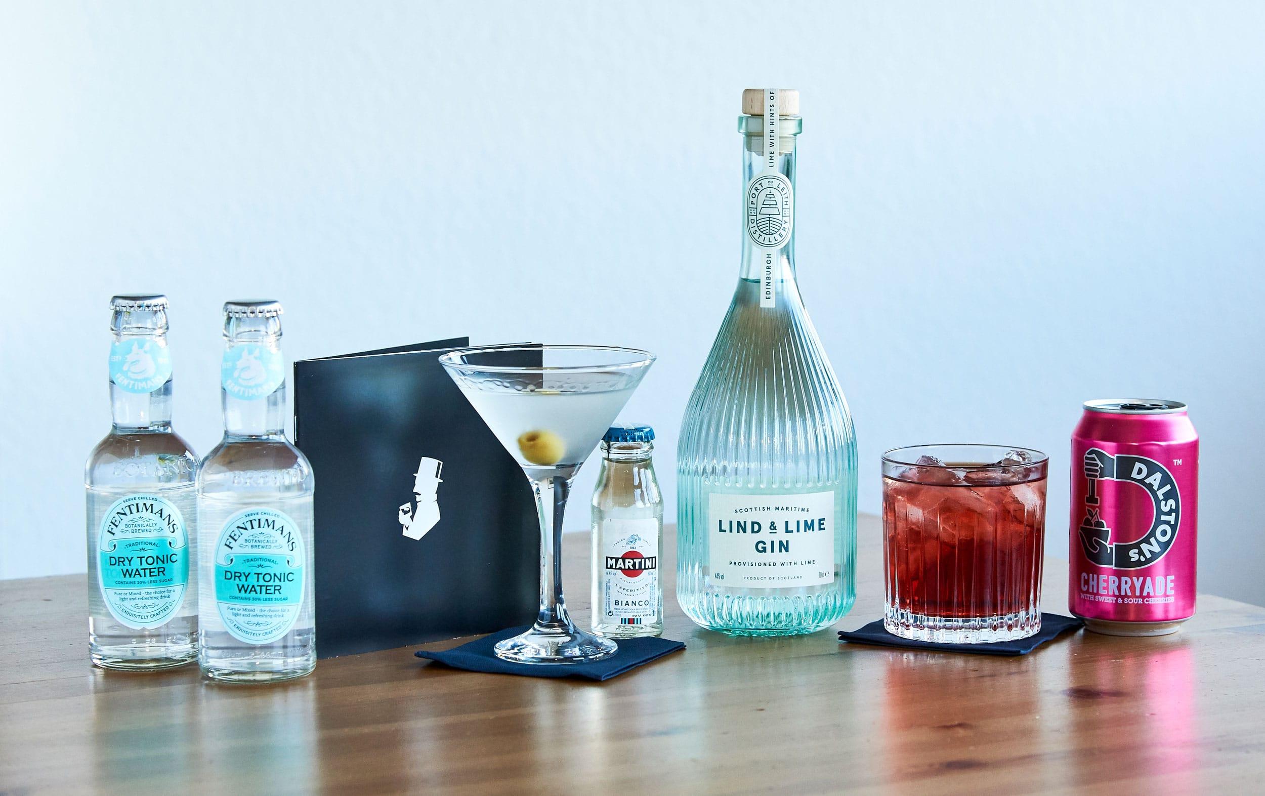 Cocktailempfehlungen zum Lind & Lime Gin