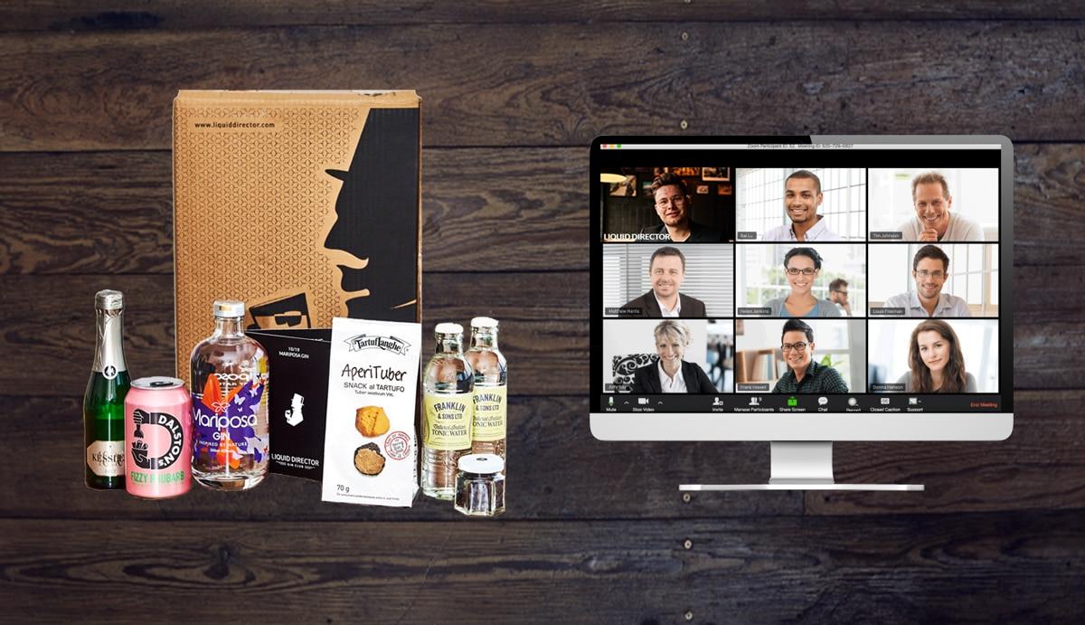 Digitales Event als Erlebnis mit dem Virtual Gin Tasting