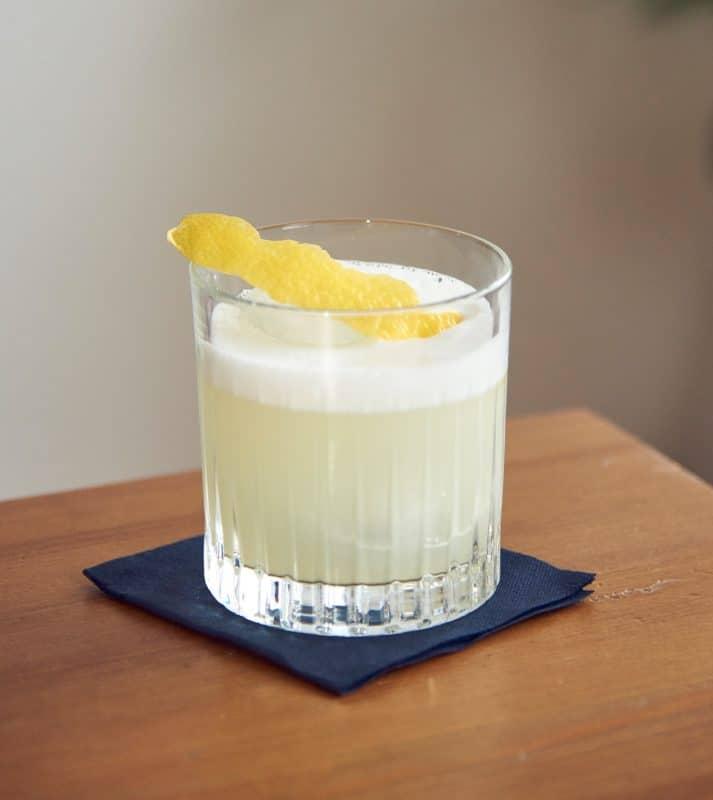 Gin Fizz / Sour Zubereitung