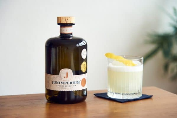 Gin Sour Cocktail Zubereitung