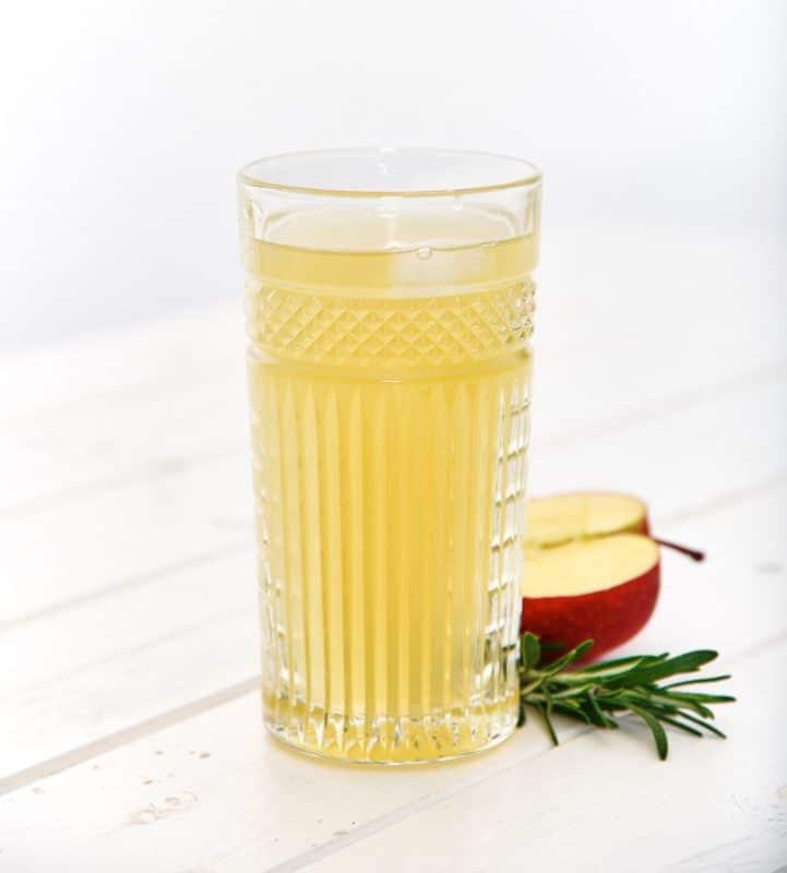 Applaus Gin mit Apfelsaftschorle