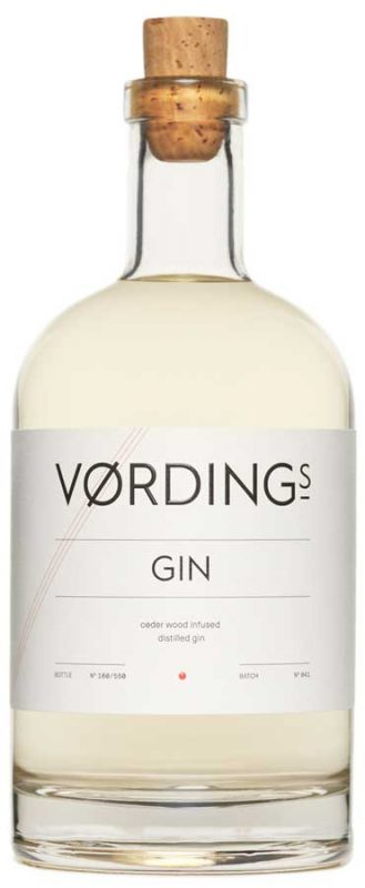 Vordings Gin Freisteller Flasche