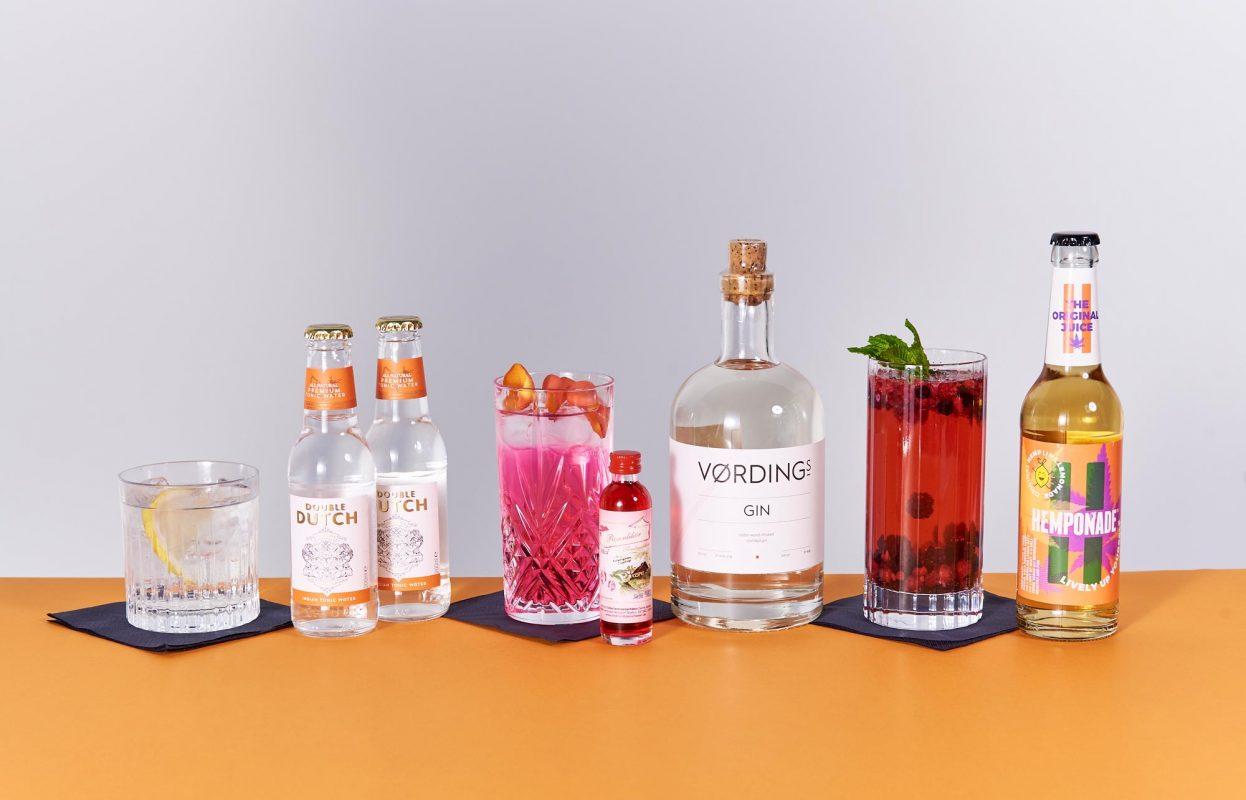 Gin Cocktailempfehlung für den Vordings Gin