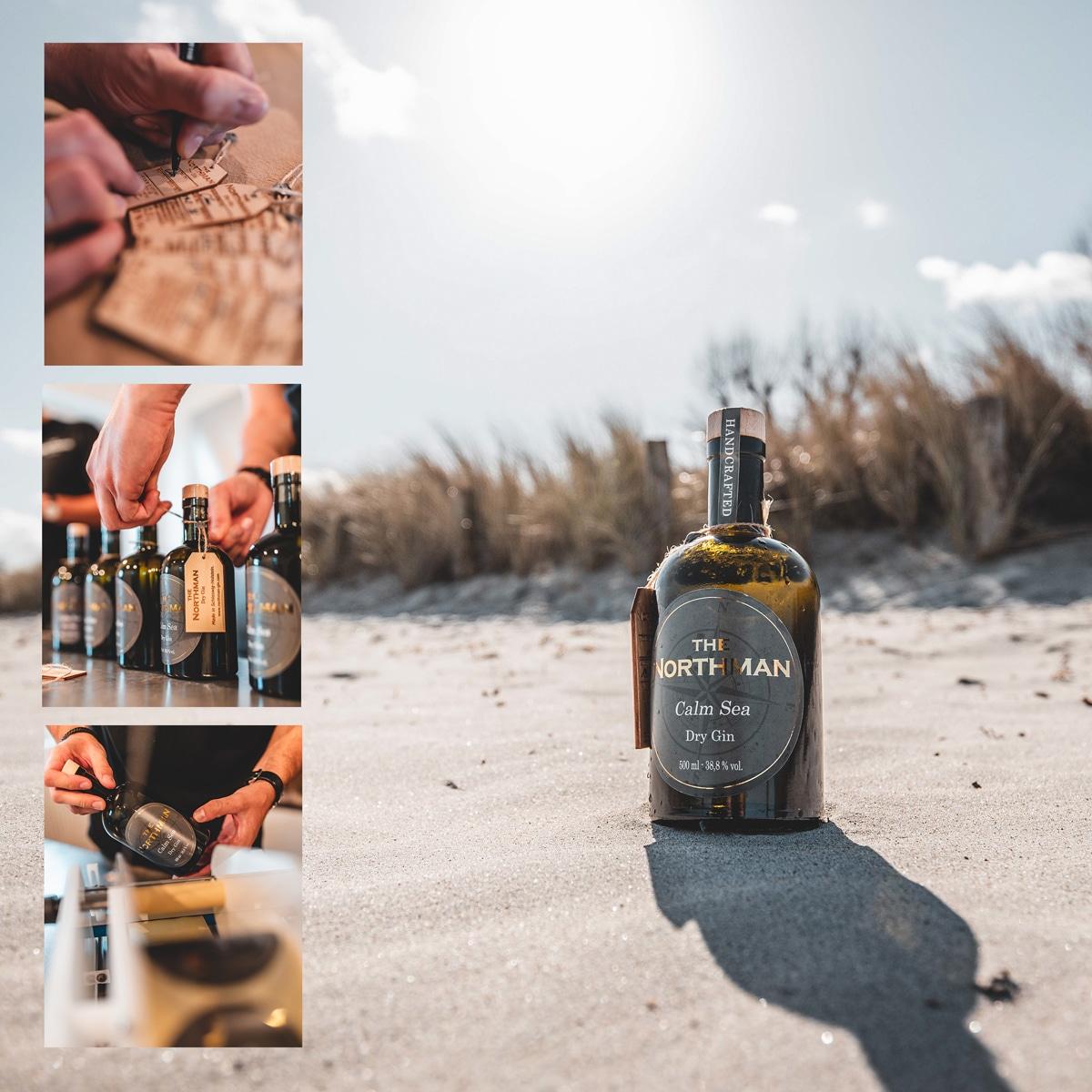 The Northman Gin in der Herstellung