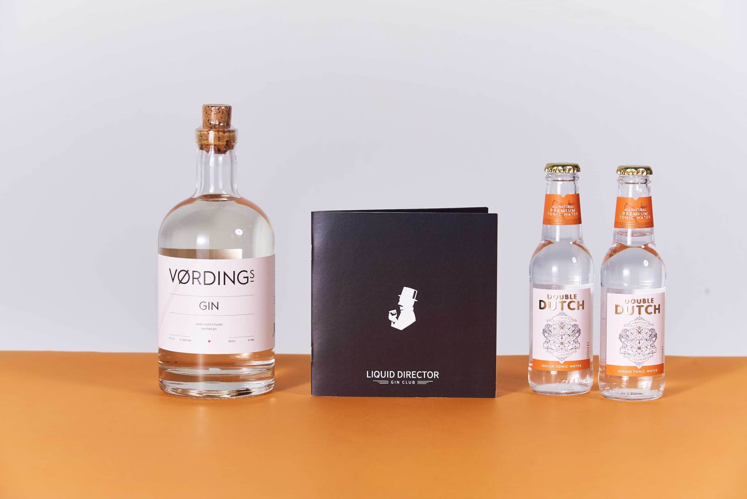 Vordings Gin mit Double Dutch Tonic Water