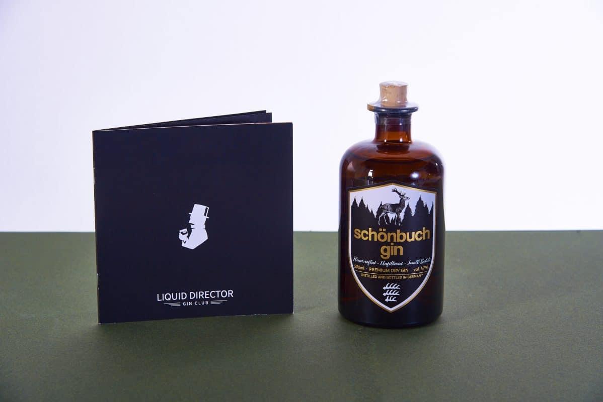 Der Schönbuch Gin im Gin Club von Liquid Director