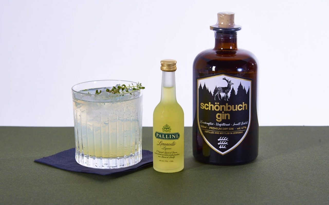 Pallini Limoncello mit Gin Cocktailrezepte