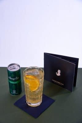 Cocktail mit Edlesgrün