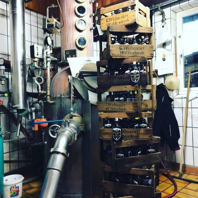 Destillerie in Waldenbuch vom Schönbuch Gin