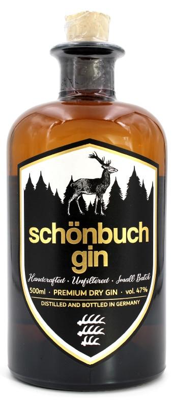 Flasche des Schönbuchs Gin aus Waldenbuch