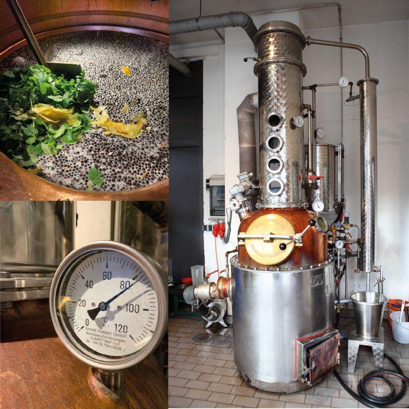 Destille vom Galeb Gin
