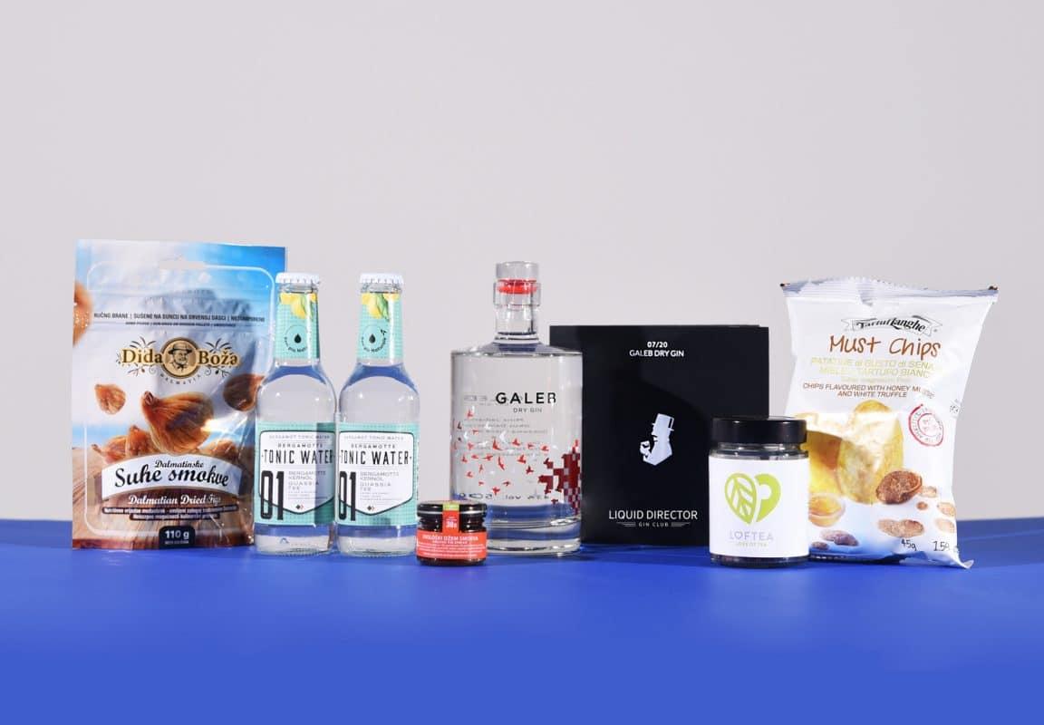 Die Kroatien Gin Box