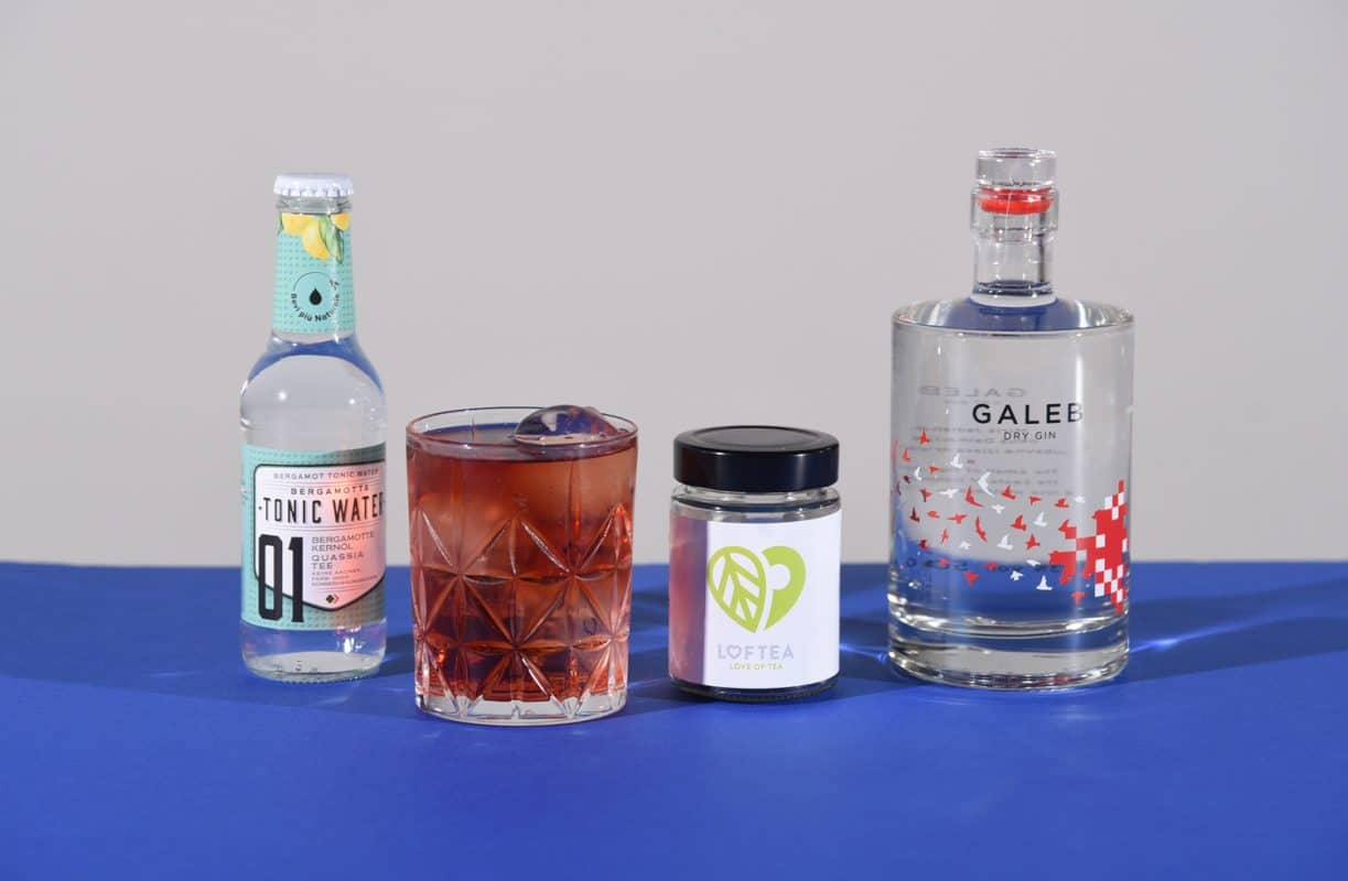 The Summer of Low-Tea Cocktail