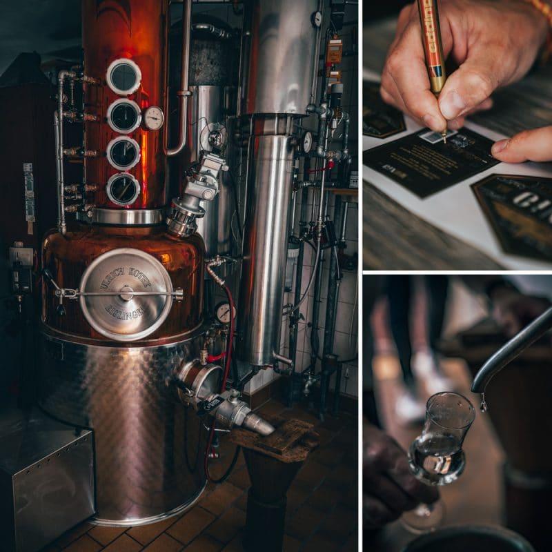 Destillerie vom MUNIG Gin
