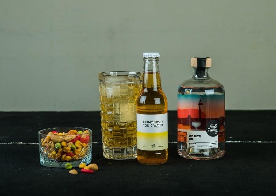 Bermondsey Tonic Water perfekt zum Sundown GIn