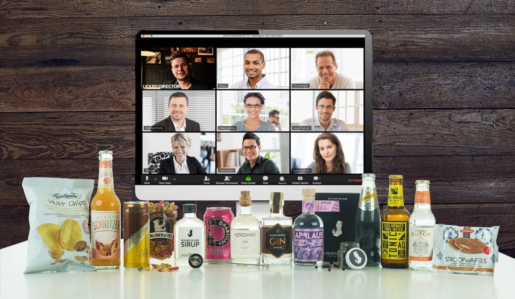 Virtuell Gin Tasting online