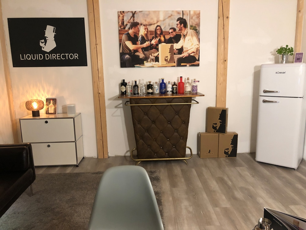 Unser Virtual Gin Tasting Studio