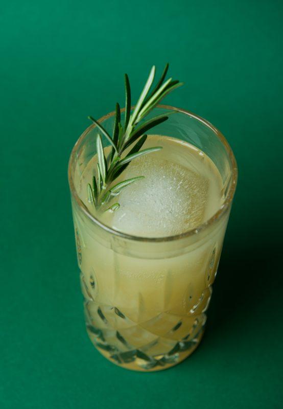 Gin Apple Pear Cocktail Detailsansicht