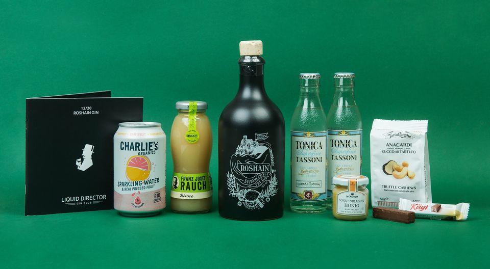 Der Roshain Gin im Liquid Director Gin Abo