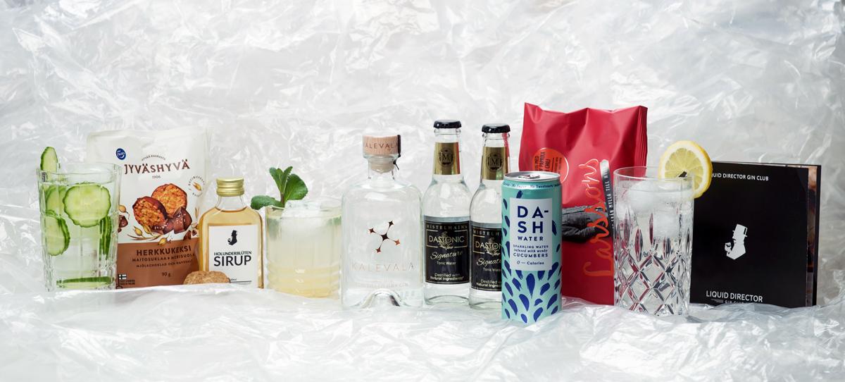 Finnland Gin Box mit Kalevala Gin, Mistelhain Tonic Water